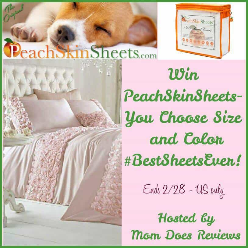 PeachSkinSheets for Comfortable Sleep