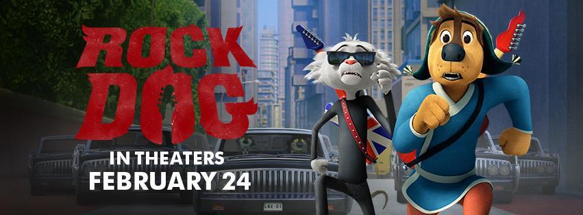 Win RockDog Movie Prize Pack $50 Visa GC too! #RockDog