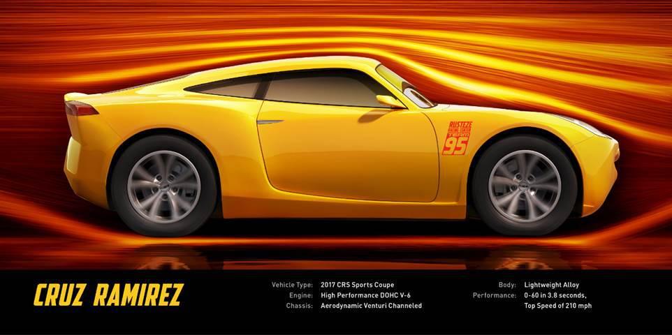 Pixar Cars 3 Cruz Ramirez