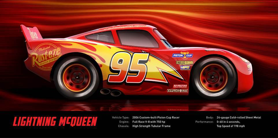 Pixar Cars 3 Lightening McQueen