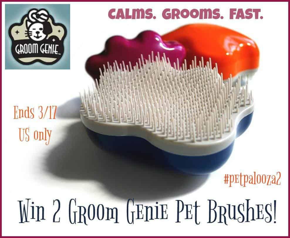 Genie Dog Grooming Pet Brushes