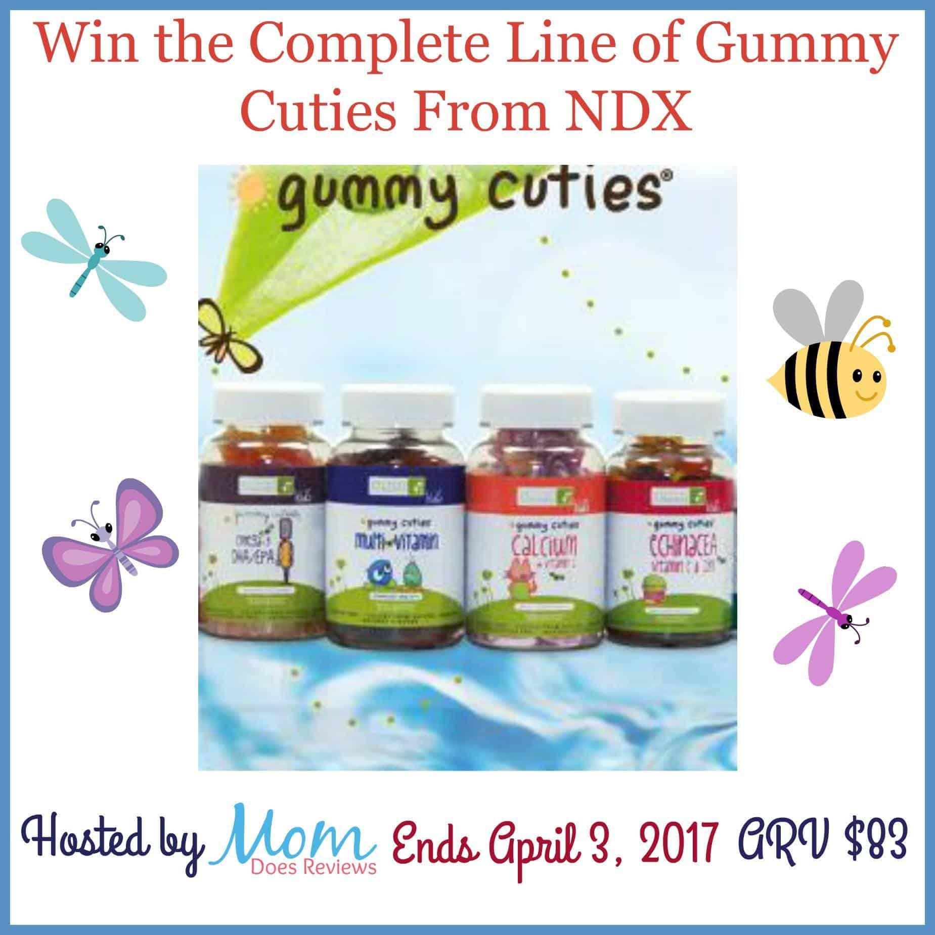 Gummy Cutie vitamins