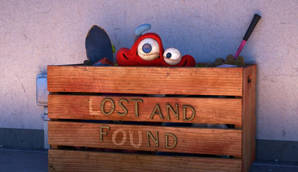 Pixar animation LOU, Lost And Found