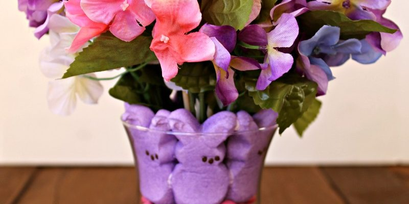 Peeps Centerpiece for EASTER Home Decor #HeartThis