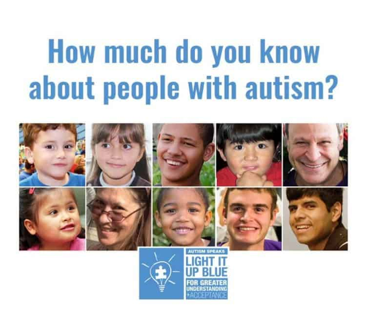 Autism Awareness, LightItUpBlue