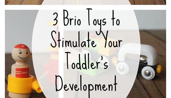 HOW-TO Stimulate Your Toddler's Development With Fun Developmental BRIO Toys