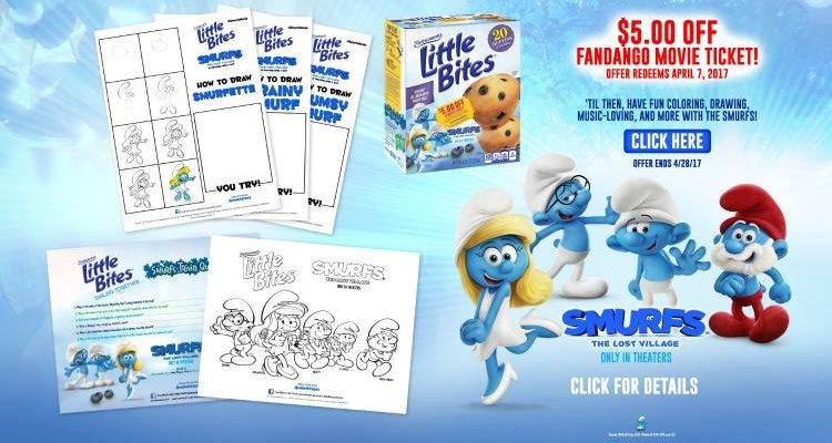 Fandango, Smurfs And Little Bites – Quite A Variety In Taste To WIN!