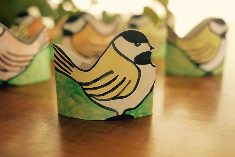 Toilet Paper Roll Chickadees CRAFT