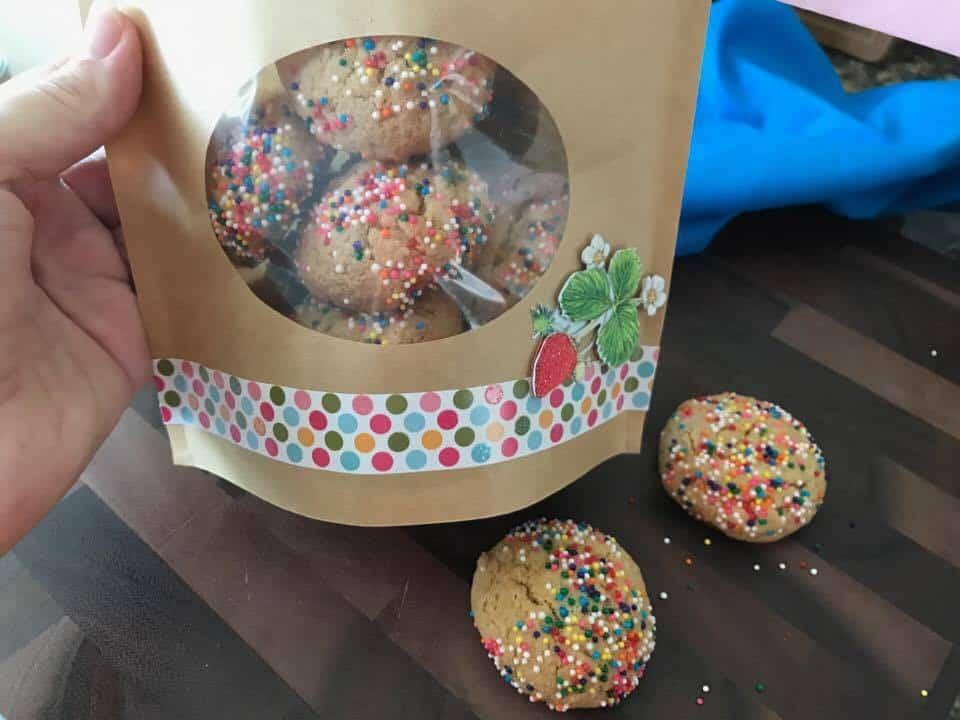 Birthday Cake Sugar Cookies Recipe