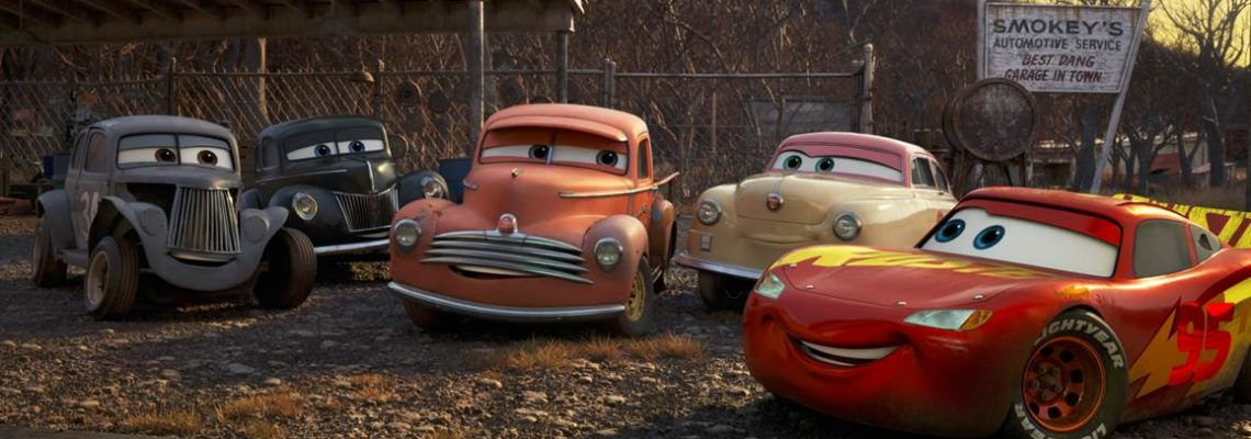 The Story of Our Story. Lightening McQueen In A New CARS 3 from PIXAR #Cars3Event