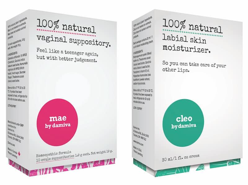 Damiva May and Cleo, Damiva Natural Feminine Products