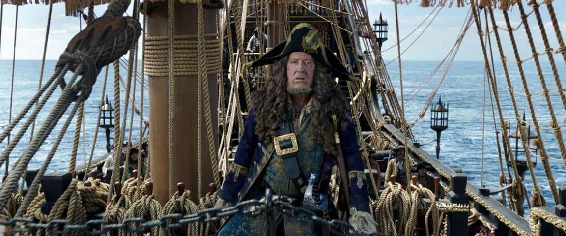 Jeoffrey Rush Pirates of the Caribbean