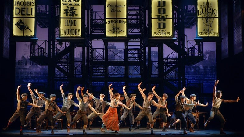disney newsies the broadway musical is here seizetheday2017