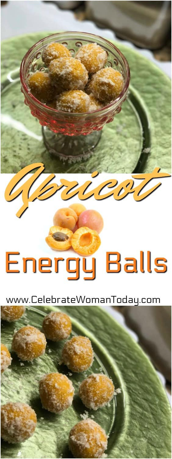 Apricot Energy Balls Recipe, RAW Recipes