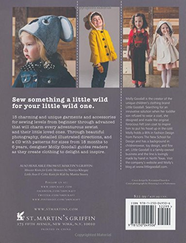 Author Molly Goodall, Wild Things To Sew And Wear Book