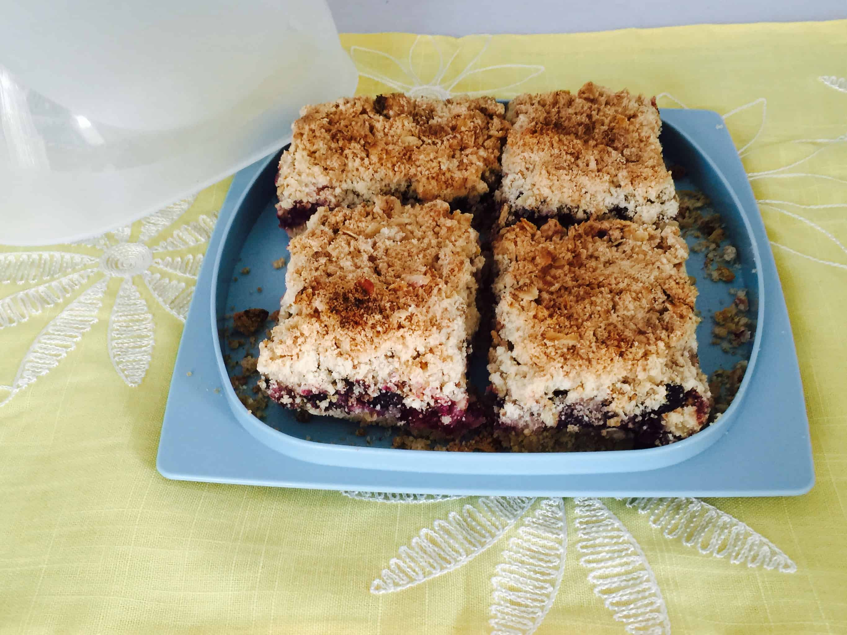 Berry Tea Cakes Recipe, Crumble Cake Recipe