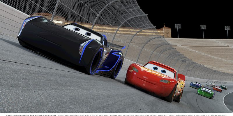 NEW Character Clips In CARS 3