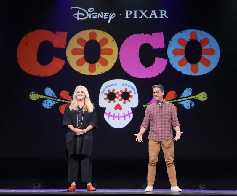 Darla K. Anderson Producer, Director Lee Unkrich, Coco movie, Pixar, Disney animation