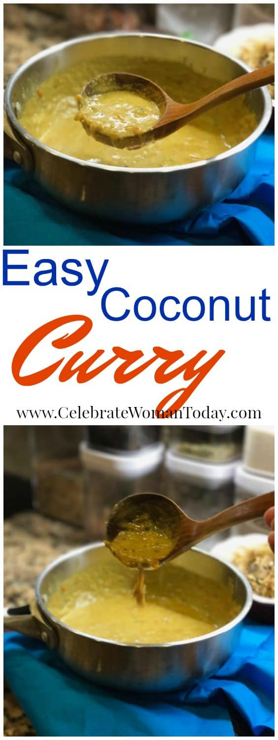 Coconut Curry Sauce Recipe