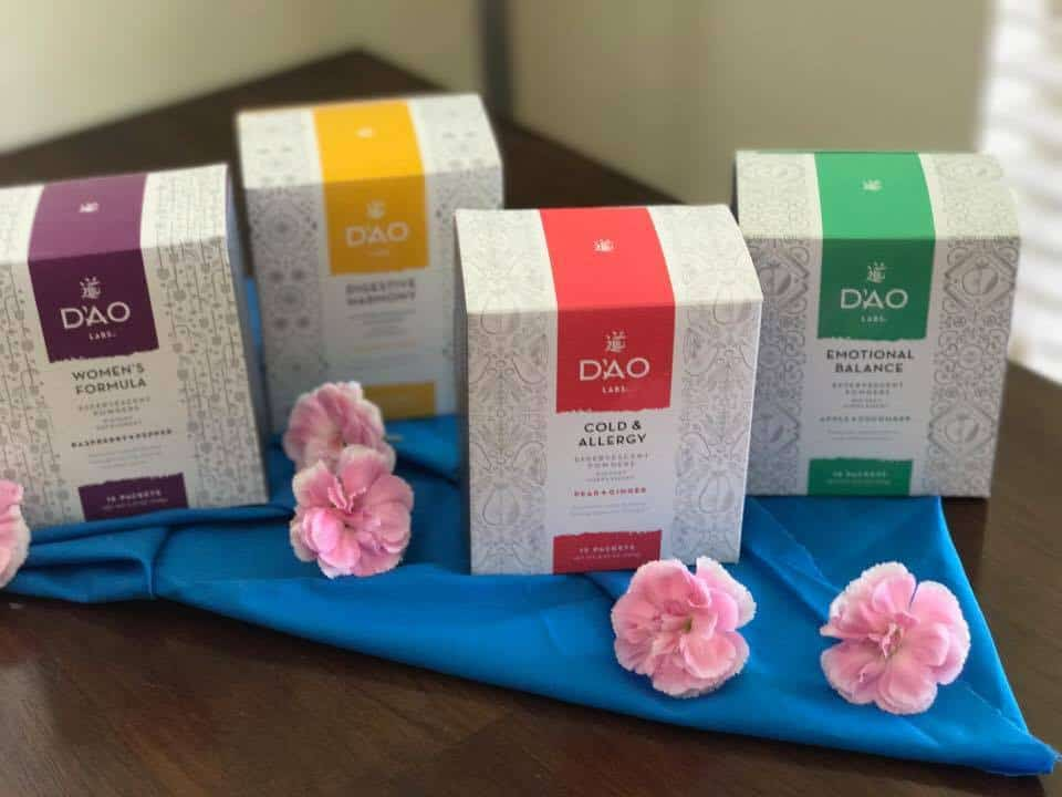 DAO LABS, Chinese Supplements, Health Supplements