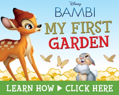 Disney BAMBI Printables, My First Garden Tutorial