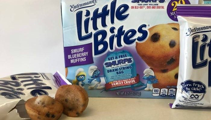 Entenmann's Little Bites Smurfs Movie Prize Giveaway