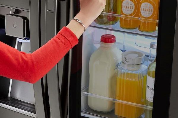 Entertain And Save With LG InstaView Refrigerator
