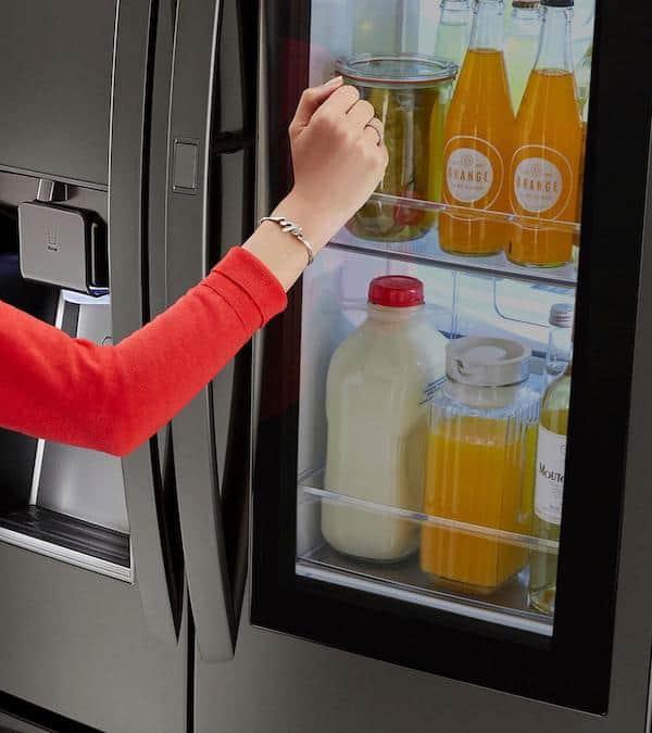 LG InstaView Refrigerator, Best Buy