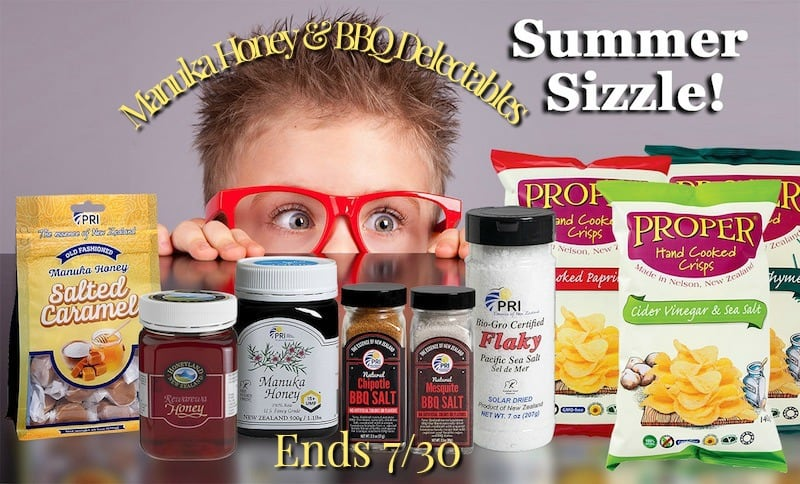 manuka honey summer sizzle