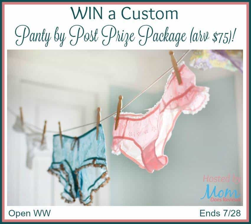 Panty by Post giveaway
