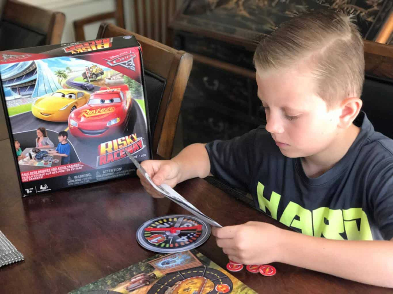 SpinMaster Games, developmental toys, CARS 3