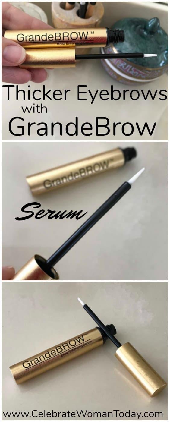GrandeBROW Eyebrow restorative treatment