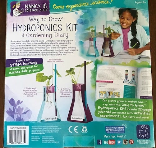Nancy B Science Club, Hydroponics Kit, Educational Insights