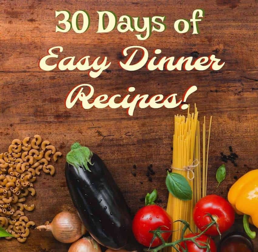 Easy Dinners, Dinner Recipes