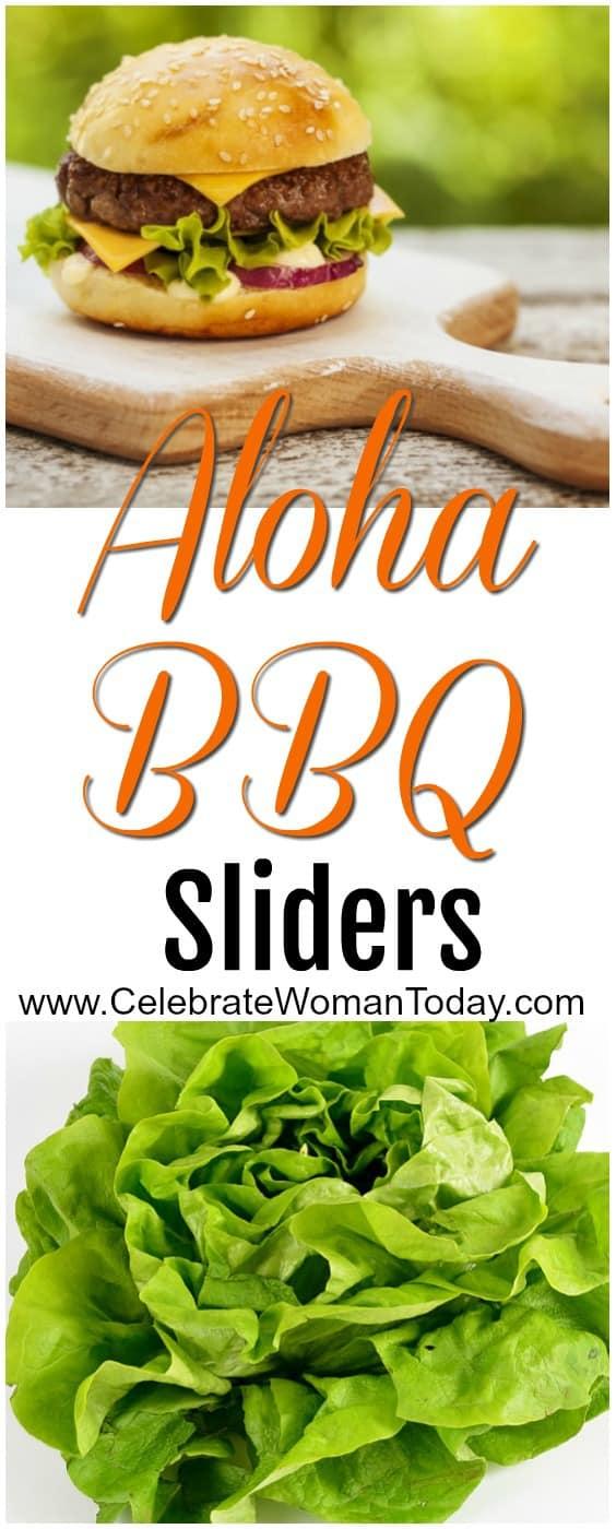 Aloha BBQ Sliders Recipe