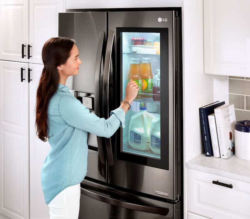 LG appliances InstaView Refrigerator