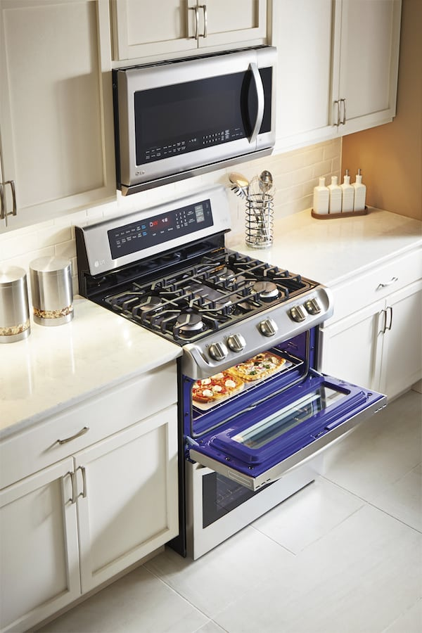 LG appliances, oven