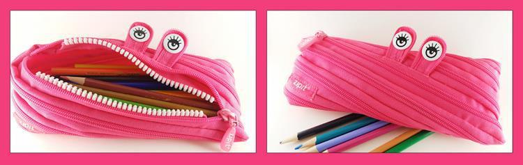 Add To School Preparedness Alphabet Blocks And ZIPIT Monster Pencil Case