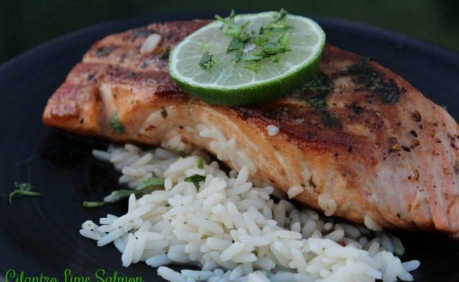 Celebrate Cilantro Lime Salmon In Our #EasyRecipes Collection