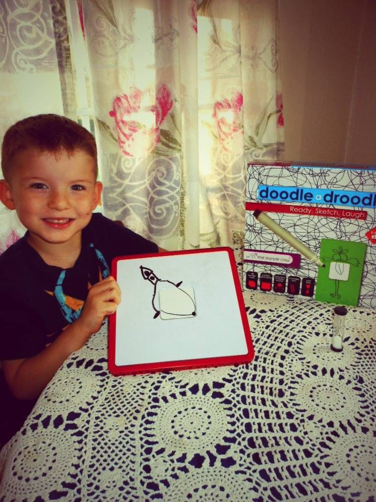 HOW-TO Shapen Find Motor Skills, Doodle A Droodle Game