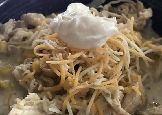 Crock Pot Recipe for Chicken Chili #EasyDinners