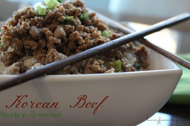 Easy Dinners, Easy Recipes, Korean Beef Recipe