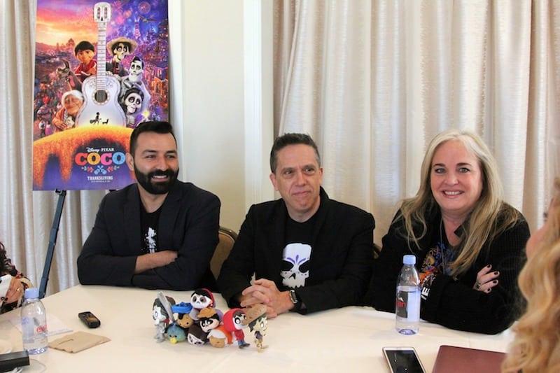 Disney Pixar COCO interview, Lee Unkrich, Adrian Molina, Darla Anderson