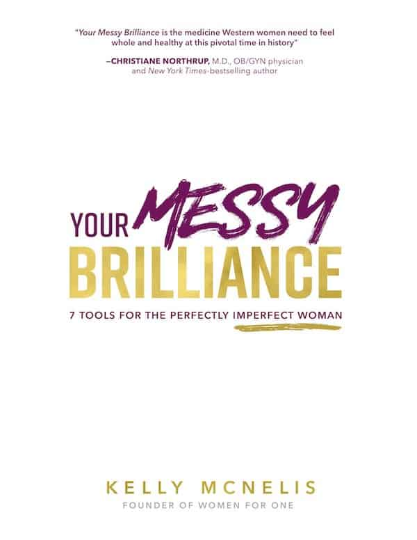 Author Kelly McNellis, Your Messy Brilliance Book