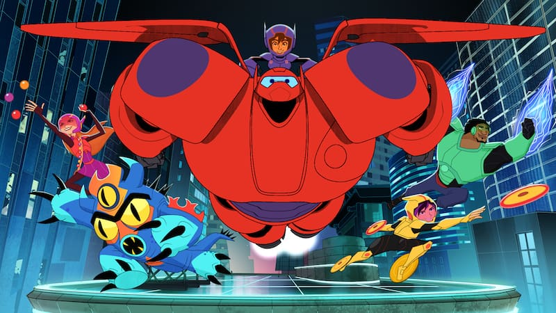 Big Hero 6 TV Series, Baymax Returns