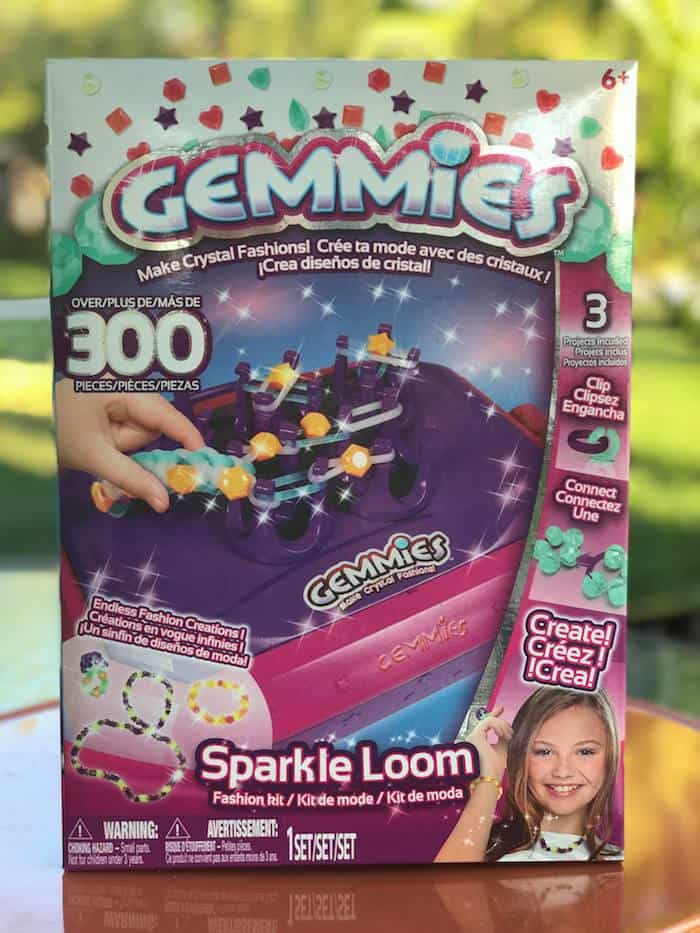 Gemmies, crystal fashions, sparkle loom, stocking stuffers