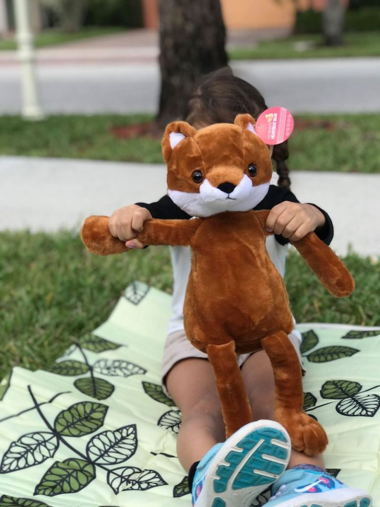 Heartbeat bear plush toys