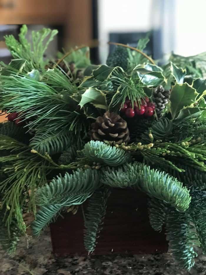Lynch Creek Farm wreaths and center pieces