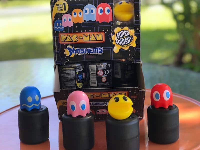 Mashems, PacMan Toys, stocking stuffers