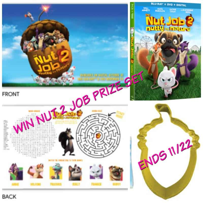 nut job 2 giveaway, amcoffee, am coffee